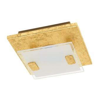 метален плафон, gold, eglo, vicaro 1, led 1x2.5w, 3000k, 1x180lm, 97757