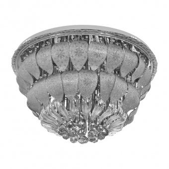 кристален плафон, хром, elbulgaria, led+15x40w, 1833/80 ch
