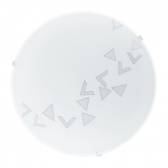 стъклен плафон, white, eglo, mars, 1x60w, 80263