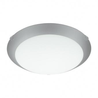 стъклен плафон, white, eglo, mars 1, 1x60w, 89248