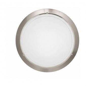 стъклен плафон, satin nickel, eglo, planet 1, 1x60w, 83162