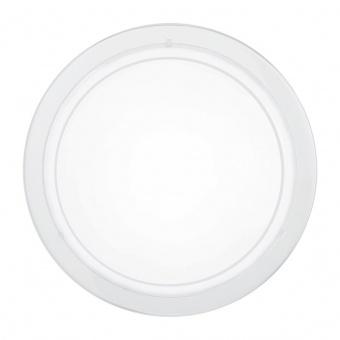 стъклен плафон, white, eglo, planet 1, 1x60w, 83153