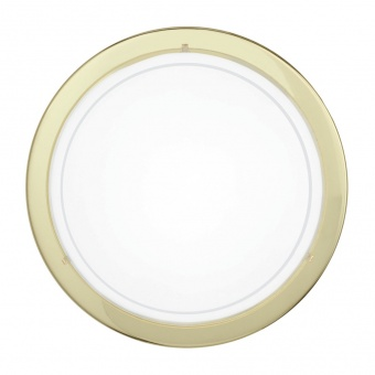 стъклен плафон, brass, eglo, planet 1, 1x60w, 83157
