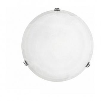 стъклен плафон, chrome, eglo, salome, 1x60w, 7186