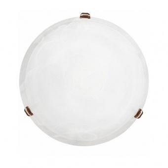 стъклен плафон, bronzed, eglo, salome, 1x60w, 7902