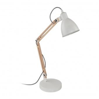 метална работна лампа, white, eglo, torona 1, 1x28w, 96957
