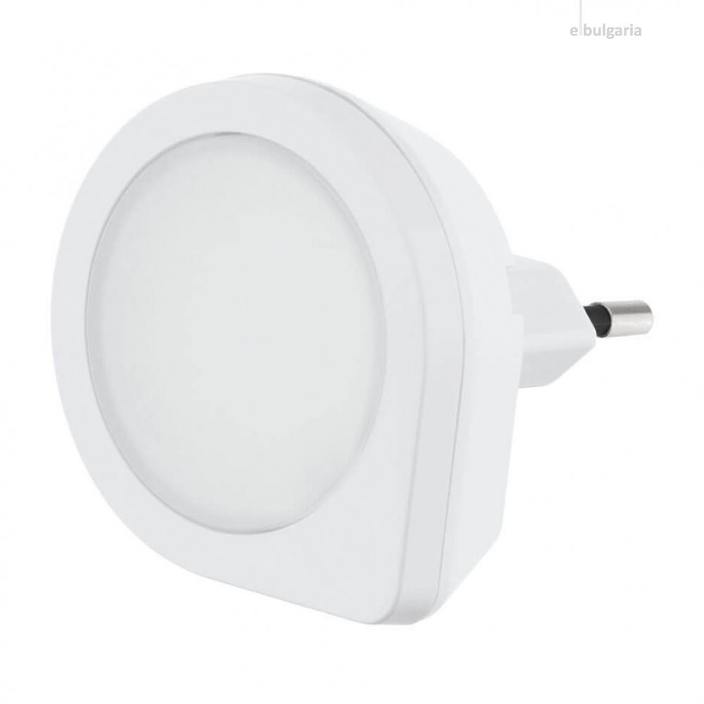 pvc нощна лампа, white, eglo, tineo, led 0.4w, 3000k, 2lm, 97932