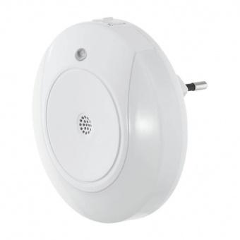 pvc нощна лампа, white, eglo, tineo, led 2x0.4w, 3000k, 8lm, 97934