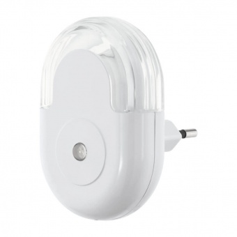 pvc нощна лампа, white, eglo, tineo, led 0.3w, 3000k, 5lm, 97935