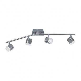 метален спот, nickel mat, rl, roubaix, led 4x4w, 3000k, 4x400lm, r82154107