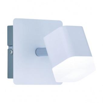 метален спот, white mat, rl, roubaix, led 1x4w, 3000k, 400lm, r82151131