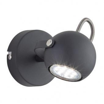 метален спот, black mat, rl, bastia, 1x25w, r80051032
