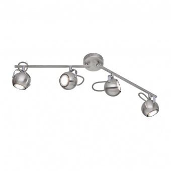 метален спот, nickel mat, rl, bastia, 4x25w, r80054007
