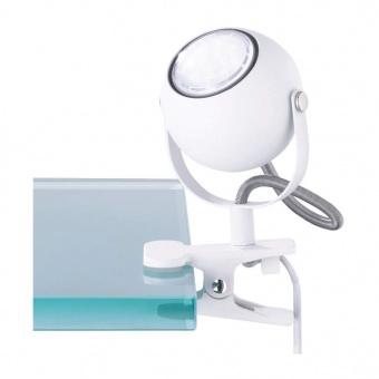 метална настолна лампа, white mat, rl, bastia, 1x18w, r20051131