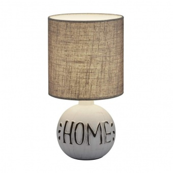 керамична настолна лампа, white, rl, esna, 1x40w, r50651025