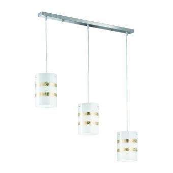 стъклен полилей, white, trio, nikosia, 3x40w, 308700379