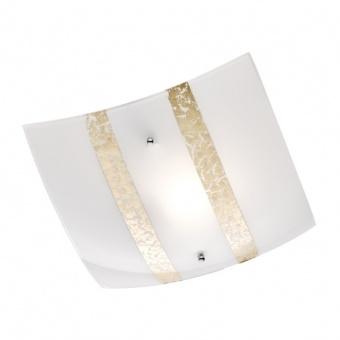 стъклен плафон, white, trio, nikosia, 1x40w, 608700179