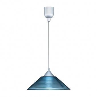 стъклен пендел, blue, trio, diego, 1x60w, 301400112