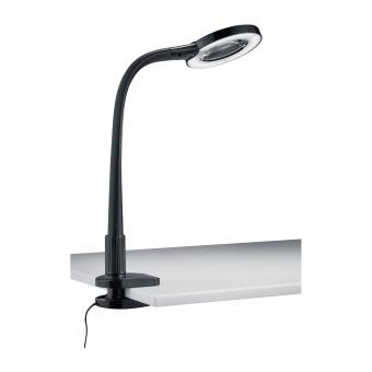 pvc работна лампа, black, trio, lupo, le 1x5w, 3500k, 1x50lm, 227280102