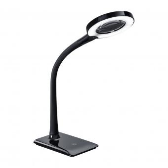 pvc работна лампа, black, trio, lupo, le 1x5w, 3500k, 1x50lm, 527290102