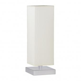 текстилна настолна лампа, white, trio, piet, 1x60w, 5914011-01