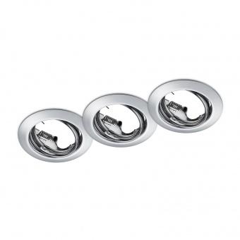 метална луна, chrome, trio, jura, 3x15w, 650100306