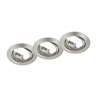 метална луна, nickel matt, trio, jura, 3x15w, 650100307