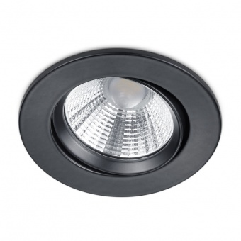 метална луна, black matt, trio, pamir, led 1x5.5w, 3000k, 1x345lm, 650510132