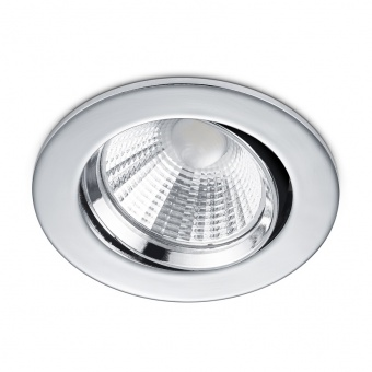 метална луна, chrome, trio, pamir, led 1x5.5w, 3000k, 1x345lm, 650510106