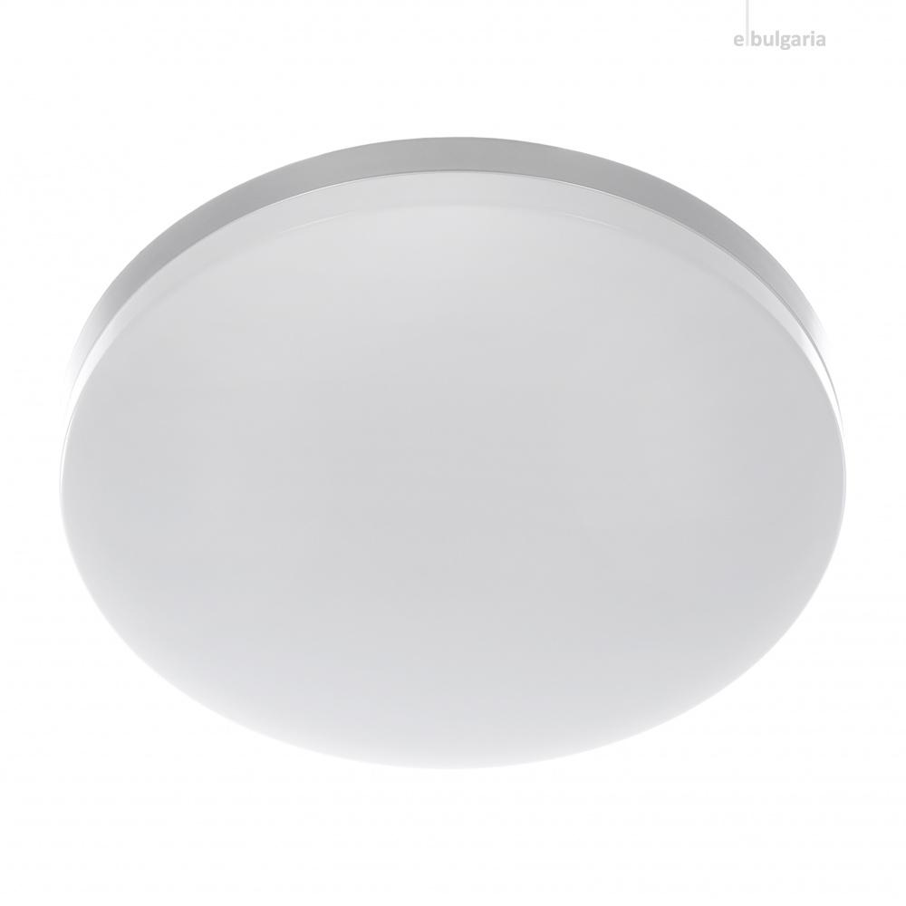 pvc плафон, сребро, elbulgaria, led 36w, 3000-4000k-6500k, 1719/36w sl