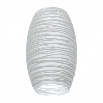 пенделно стъкло, бяло, elbulgaria, за фасунга е27, 2104-0-fs mat us/wh