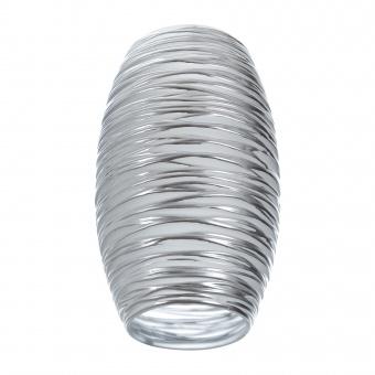 пенделно стъкло, хром, elbulgaria, за фасунга е27, 2104-0-fs mat ch