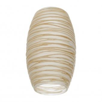 пенделно стъкло, крем, elbulgaria, за фасунга е27, 2104-0-fs mat us/somon