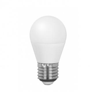 led лампа 5w, e27, бяла светлина, ultralux,  4200k, 470lm, lb52742lv