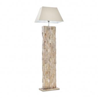 лампион от камък, бял, elbulgaria, 1x40w, eli 40f wh