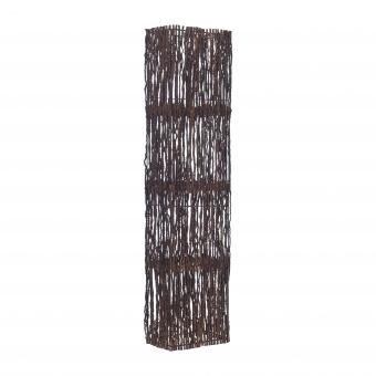 лампион от дърво, кафяв, elbulgaria, 2x40w, eli 42f br