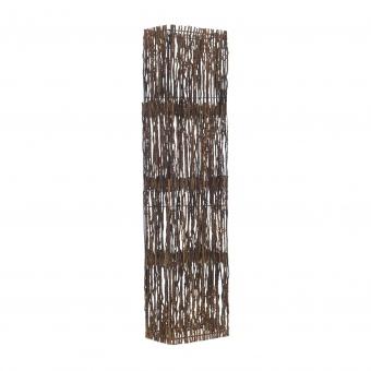 лампион от дърво, крем, elbulgaria, 2x40w, eli 42f nt