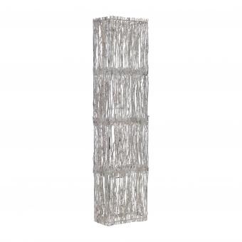 лампион от дърво, бял, elbulgaria, 2x40w, eli 42f wh