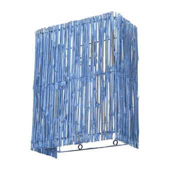 аплик от дърво, син, elbulgaria, 1x40w, eli 44/1w wh/br