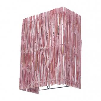 аплик от дърво, розов, elbulgaria, 1x40w, eli 44/1w wh/pk