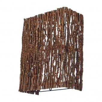 аплик от дърво, крем, elbulgaria, 1x40w, eli 45/1w nl