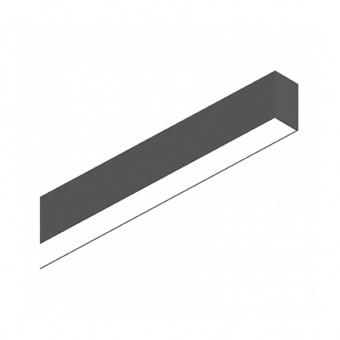 линейно осветително тяло, 1205mm black, ideal lux, fluo wide, led 26w, 4000k, 2800lm, 192505
