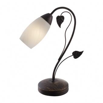 стъклена настолна лампа, rust colour, nino, venezia, 1x40w, 50800123