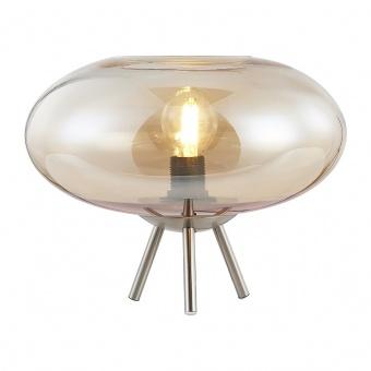 стъклена настолна лампа, amber colored, nino, lille, 1x40w, 50040123