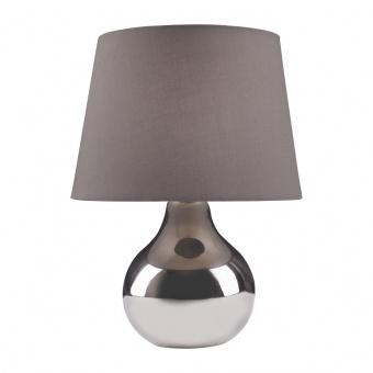 керамична настолна лампа, chrome, nino, ben, 1x40w, 51040106