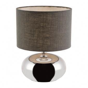 керамична настолна лампа, chrome, nino, zoe, 1x40w, 50940106