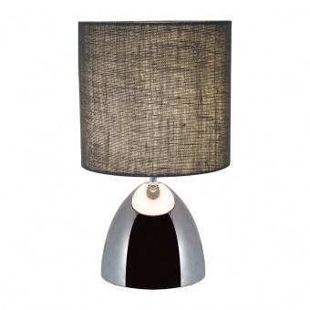 керамична настолна лампа, chrome, nino, zoe, 1x40w, 50950106