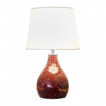 керамична настолна лампа, red, nino, susa, 1x40w, 51070112
