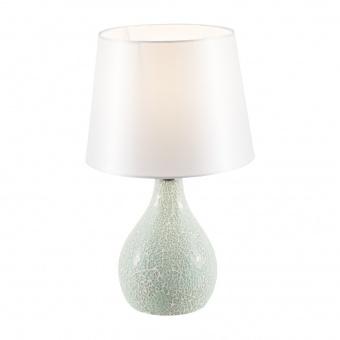 керамична настолна лампа, turquise, nino, susa, 1x40w, 51070116