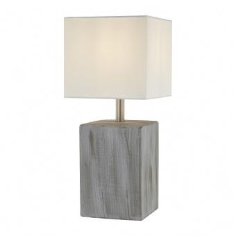 керамична настолна лампа, grey, nino, sea, 1x40w, 51270102